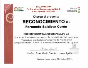 Reconocimiento_GobiernoNL_VoluntarioProlec_2016